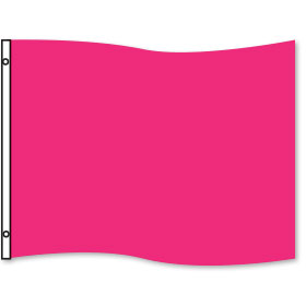 Pink Rectangle Flag 3 x 5ft
