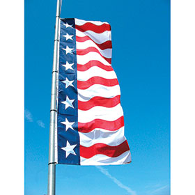 Uncle Sam Flag 3' x 10'