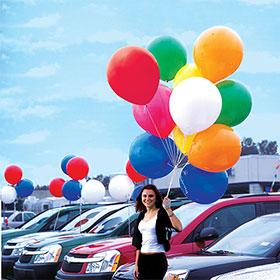 2' Jumbo Promo Balloons