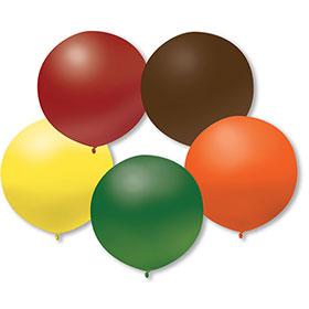 17 Inch Autumn Premium Outdoor Balloons