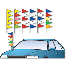 Triangle Antenna Pennants