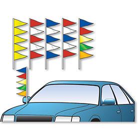 Triangle Antenna Pennants