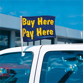 Buy Here Pay Here - Economy Clip-On Flag Kit