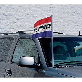 Message Flag Antenna Pennants