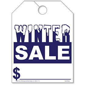 Winter Sale Mirror Tags