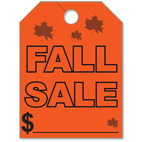 Fall Sale Mirror Tags
