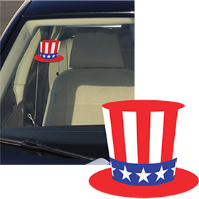 Patriotic Hat Stickers