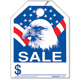 Eagle Sale Bright Rear View Mirror Tags