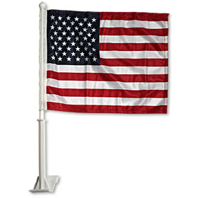 American Flag Clip-On Flags