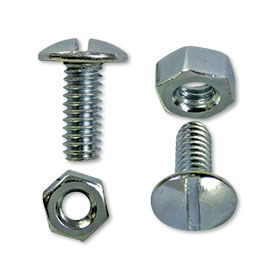 License Plate Nuts and Bolts