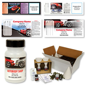 Paint Touch-Up Kits - 60cc Round