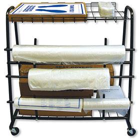 Cover Dispenser Cart