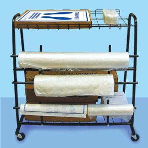 Seat Cover Dispenser Cart Floor Mat Storage Cart Service