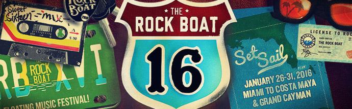 The Rock Boat XVI