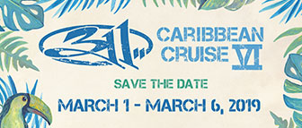 311 Caribbean Cruise 2019