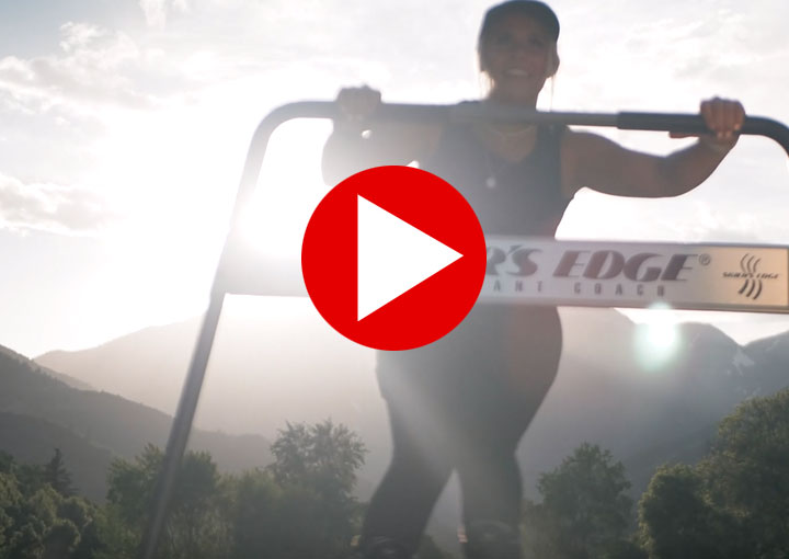 train for skiing at home