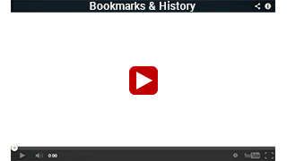 Bookmarks & History