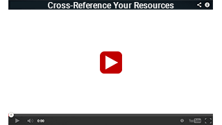 Cross-Reference Your Resources