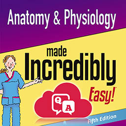 Anatomy and Physiology Made Incredibly Easy 5th