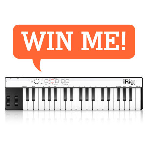 Win a free IK Multimedia iRig Keys