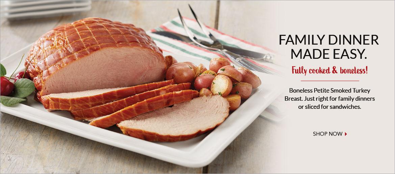 Smoked Fully Cooked Boneless Turkey Breast