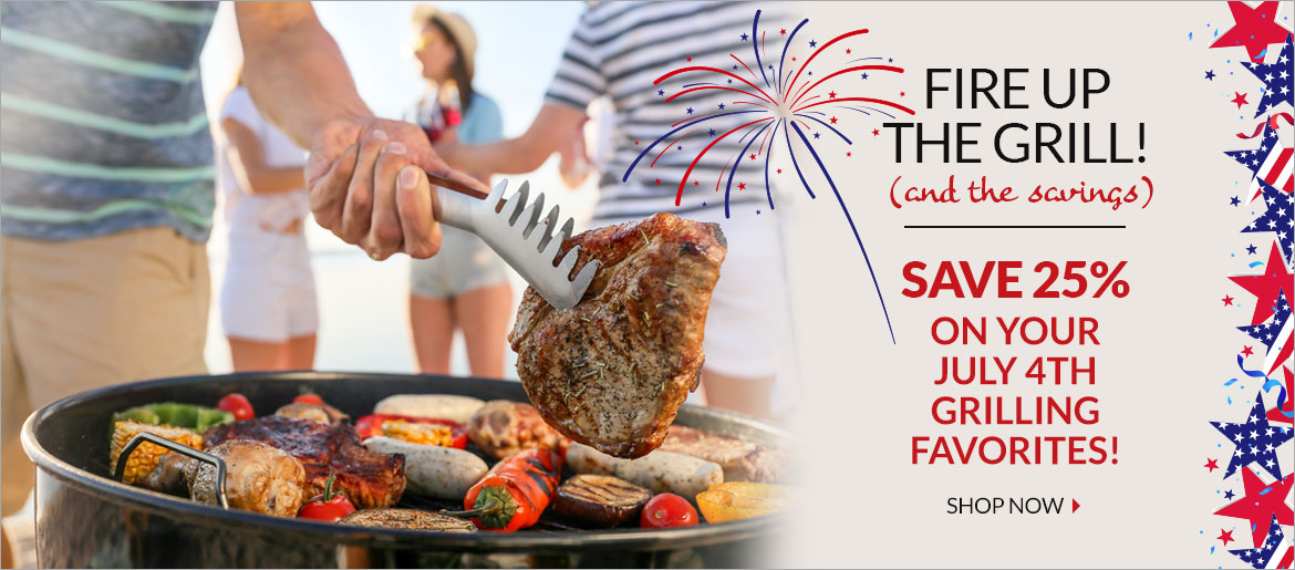 Fourth of July Grilling Items