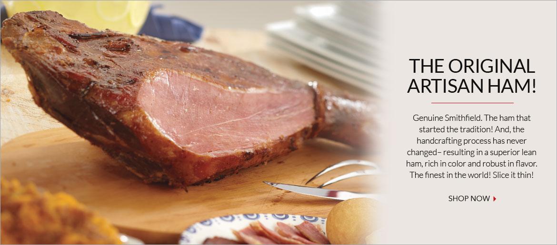 Genuine Smithfield Ham Cooked