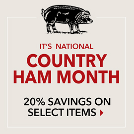 Country Ham Month 20% Off Select Items - Smithfield Marketplace