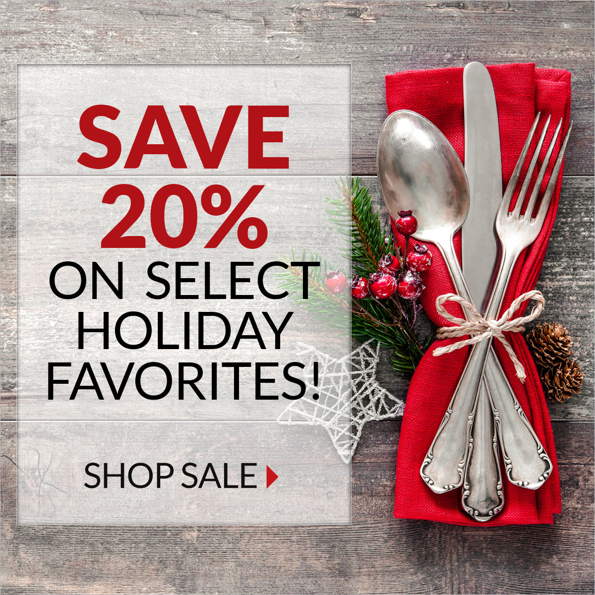 Holiday Favorites 20% Off - Smithfield Marketplace