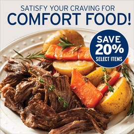 Comfort Food Sale- Smithfield Marketplace