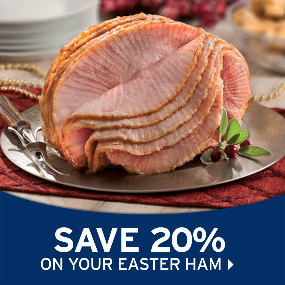 Easter Ham Sale- Smithfield Marketplace