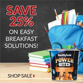 Breakfast Items On Sale - Smithfield Marketplace