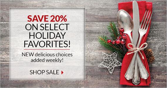 Holiday Favorites 20% Off - Smithfield Marketplace