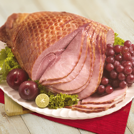 Double Honey Glazed Whole Spiral Sliced Ham