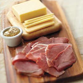 Genuine Smithfield Ham & Cheddar Together