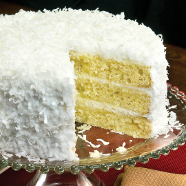Coconut Layer Cake - Smithfield Marketplace