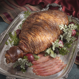 Charles Henry Gray Party Ham on a tray - Smithfield Marketplace