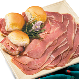 Slices of Genuine Smithfield Ham - Smithfield Marketplace