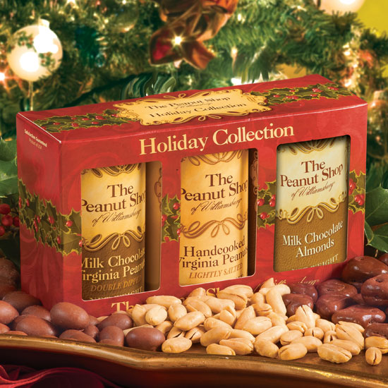 Holiday Collection Gift Box with Salted Peanuts