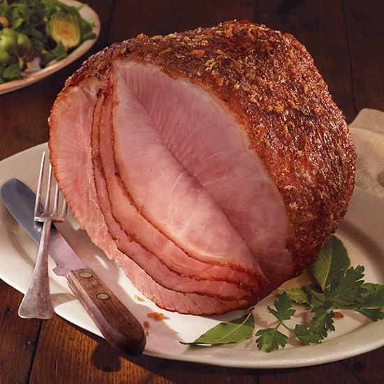 Carando® Honey Cured Bone In Half Spiral Ham