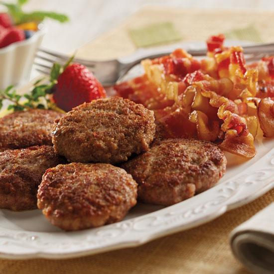 Sausage & Bacon Breakfast Combo