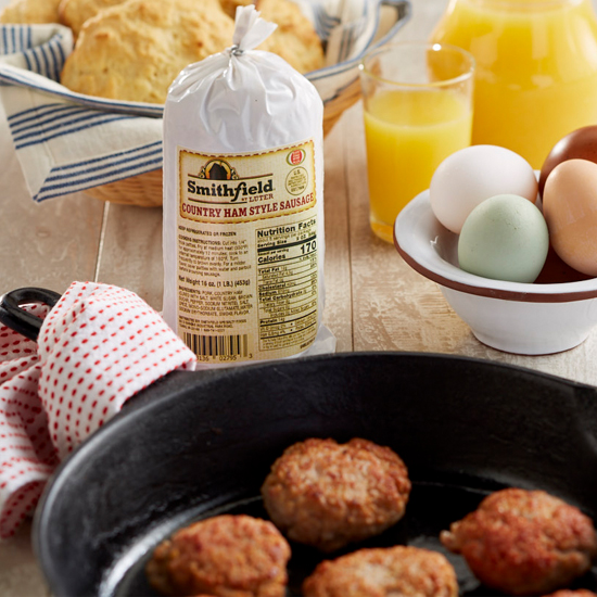 Smithfield Country Ham Style Sausage
