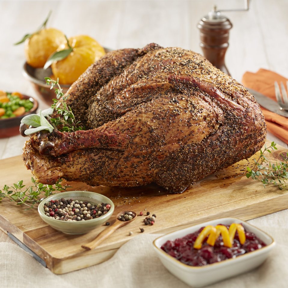 Smoked Peppered Whole Turkey 8-10 lb.