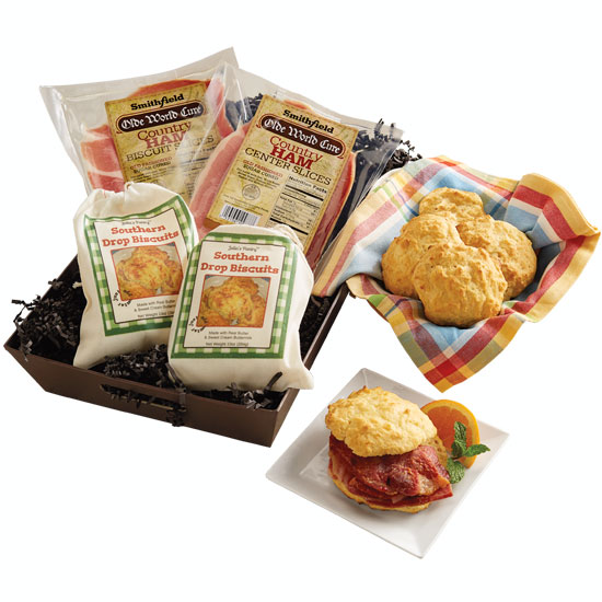 Country Ham & Biscuits Sampler - Smithfield Marketplace