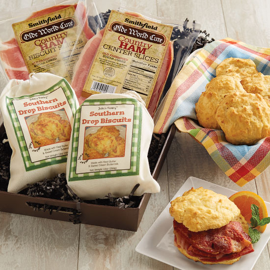 Country Ham & Biscuits Sampler