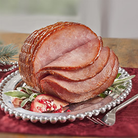 Honey Boneless Spiral Ham - Smithfield Marketplace