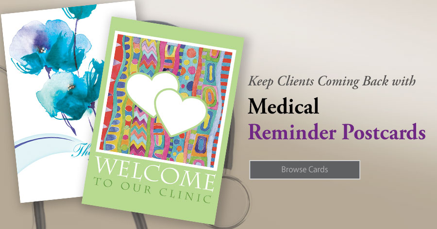 Medical Reminder Postcards