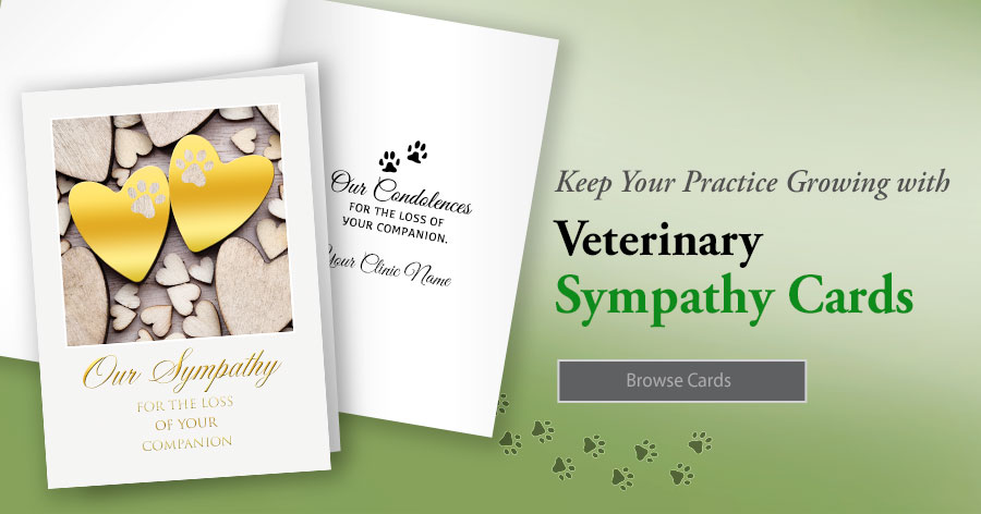Veterinary Sympathy Cards