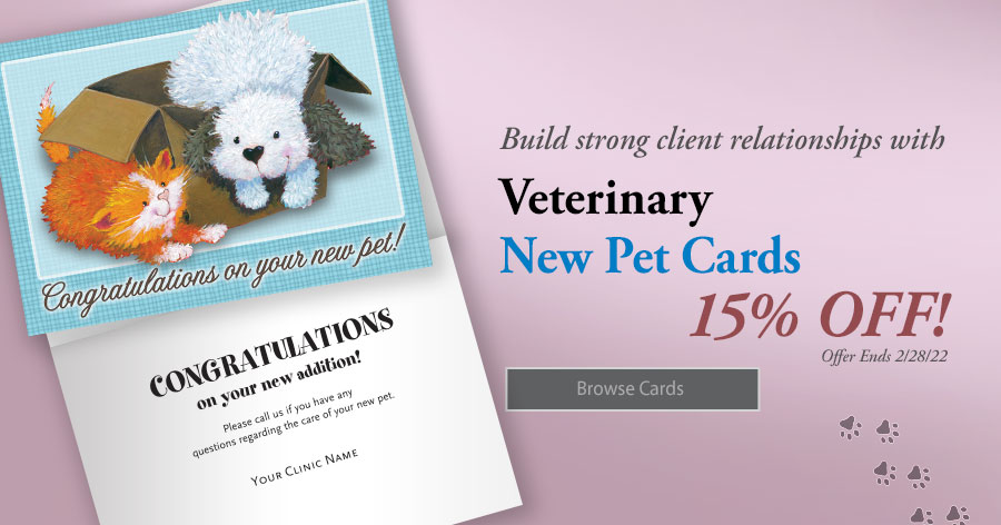 20% Off All New Pet Cards!