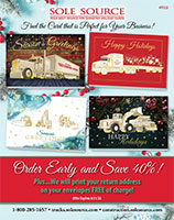 Sole Source Trucking Holiday-Christmas Card Cataglog